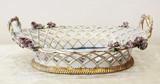"""Арт-студия """"Кентавр"""" - Старинная конфетница в форме корзины  №014902"""