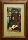 """Арт-студия """"Кентавр"""" - """"В церкви Санта Мария Глориоза деи Фрари в Венеции""""  №014909"""