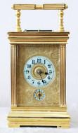 """Арт-студия """"Кентавр"""" - Старинные каретные часы с арабскими цифрами №015004"""