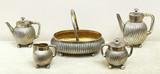 """Арт-студия """"Кентавр"""" - Старинный серебряный сервиз из пяти предметов №015014"""