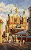 """Арт-студия """"Кентавр"""" - """"Храм Климента Папы Римского в Москве"""" №015075"""
