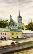 """Арт-студия """"Кентавр"""" - """"Церковь Николая Мерликийского в Заяицком"""" №015076"""
