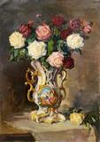 """Арт-студия """"Кентавр"""" - """"Розы в фарфоровой вазе"""" №015150"""