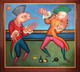 """Арт-студия """"Кентавр"""" - Парные картины из серии карнавалы """"Карнавалы Санкт-Петербурга"""" №015162"""