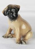"""Арт-студия """"Кентавр"""" - Фарфоровая статуэтка собаки породы мопс №015213"""