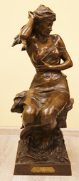 "Арт-студия ""Кентавр"" - Бронзовая скульптура ""Гроза"" №015223"