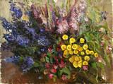 "Арт-студия ""Кентавр"" - ""Натюрморт с цветами"" №015235"