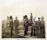 """Арт-студия """"Кентавр"""" - """"Гвардейская конная артиллерия. 1860 год"""" №015252"""