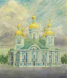 """Арт-студия """"Кентавр"""" - """"Николо-Богоявленский морской собор в Санкт-Петербурге"""" №015273"""
