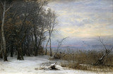 "Арт-студия ""Кентавр"" - ""Зимний день на берегу озера"" №015335"
