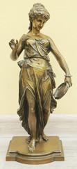 "Арт-студия ""Кентавр"" - Бронзовая скульптура ""Танцовщица с тамбурином"" №015362"