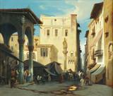 "Арт-студия ""Кентавр"" - Вернер Карл Фридрих (1808-1894) - ""Вид Рима"" 1838 г №002605"