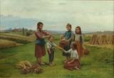 """Арт-студия """"Кентавр"""" - Сезар Паттен (1850-1931) - """"Играющие дети"""" №003108"""