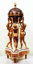 """Арт-студия """"Кентавр"""" - Часы каминные с боем """"Три грации"""" №003400"""