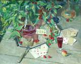 """Арт-студия """"Кентавр"""" - """"Натюрморт на даче с красным вином""""   №005142"""