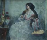"Арт-студия ""Кентавр"" -  Борхардт Ханс - ""Перед зеркалом"" 1906г №005651"