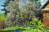 """Арт-студия """"Кентавр"""" - """"Наш дом. Яблоня цветет."""" №006155"""