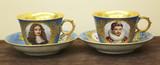 """Арт-студия """"Кентавр"""" - Старинные чашки (чайные пары) №006947"""