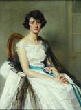 """Арт-студия """"Кентавр"""" - Ватле Шарль Жозеф (1867-1954) - """"Портрет молодой девушки"""" 1924 г №008298"""