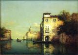 """Арт-студия """"Кентавр"""" - Бувар Джорж Ноэль (1912-1975) - """"Канал в Венеции""""  №008689"""