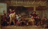 """Арт-студия """"Кентавр"""" - Робинсон Матиас (1856-1884) - """"Нападение подвижного отряда"""" 1864 г. №008695"""