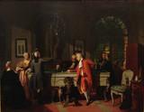 "Арт-студия ""Кентавр"" -  Каролюс  Жан (1840-1897) - ""Игра в бильярд"" №008697"