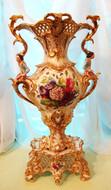 """Арт-студия """"Кентавр"""" - Большая дворцовая антикварная ваза №008982"""