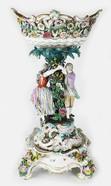 Антиквариат.ру - Старинная ваза для фруктов №008985