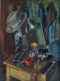 """Арт-студия """"Кентавр"""" - """"Натюрморт со шляпой и галстуком"""" №009177"""