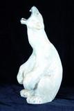 """Арт-студия """"Кентавр"""" -  Фарфоровая статуэтка """"Белый медведь"""" №009211"""