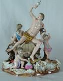 "Арт-студия ""Кентавр"" - Скульптура ""Вакх (бахус) - бог вина, виноделия"" 1830-1860гг №009373"