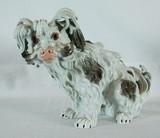 """Арт-студия """"Кентавр"""" -  Фарфоровая статуэтка собаки породы Болонка №009723"""