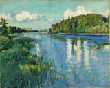 "Арт-студия ""Кентавр"" - ""Латгалия. Озеро Длинное Снидино""  №009783"