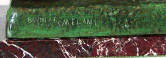 """Арт-студия """"Кентавр"""" - Бронзовая скульптура в стиле Ар-Деко (Art Deco) """"Девушка с козлятами """"""""  №010014"""