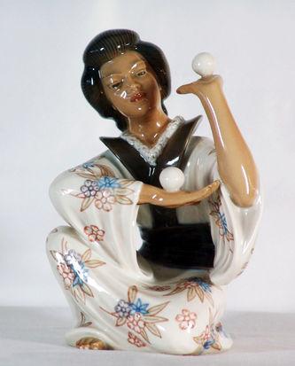 "Арт-студия ""Кентавр"" - Статуэтка ""Японский жонглер"" №010082"