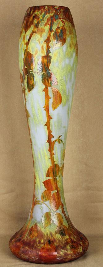 """Арт-студия """"Кентавр"""" - Ваза с декором в виде осенних листьев. 1900 - 1905 гг. №010350"""