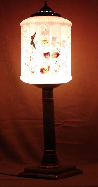 """Арт-студия """"Кентавр"""" - Антикварный настольный светильник  №010381"""