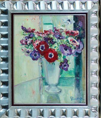"""Арт-студия """"Кентавр"""" - """"Букет цветов в вазе"""" №010398"""