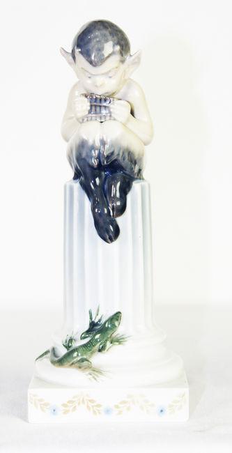 """Арт-студия """"Кентавр"""" - Статуэтка """"Фавн и ящерица""""  №010920"""