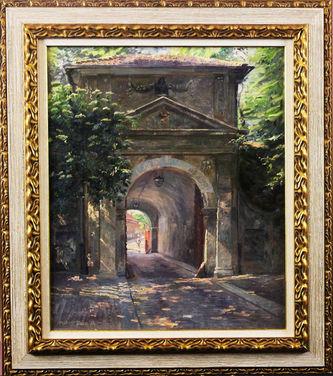 """Арт-студия """"Кентавр"""" - Паницш Роберт (1879-1949) - """"Ворота цитадели"""" №011236"""