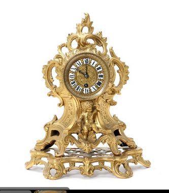 """Арт-студия """"Кентавр"""" - Часы каминные в стиле рококо №011463"""