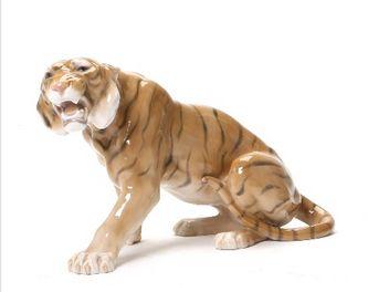 "Арт-студия ""Кентавр"" - Фарфоровая статуэтка ""Тигр""  №011498"