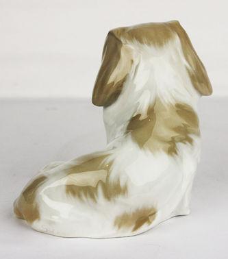 """Арт-студия """"Кентавр"""" - Фарфоровая статуэтка собаки породы Пекинес №012120"""