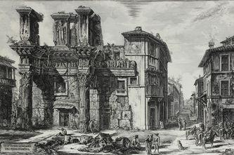"""Арт-студия """"Кентавр"""" - """"Вид руин форума римского императора Нерва"""" №012130"""