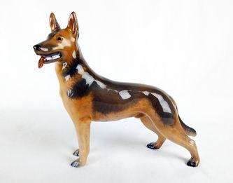 "Арт-студия ""Кентавр"" - Фарфоровая статуэтка собаки породы Овчарка №012258"