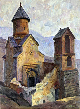 "Арт-студия ""Кентавр"" - ""Армения. Храм Спитакавор"" №012403"