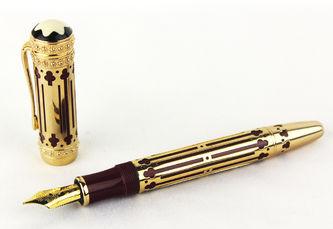 """Арт-студия """"Кентавр"""" - Перьевая ручка «Catherine II the Great» из коллекции «Покровитель искусств». Limited Edition 4810  №012515"""