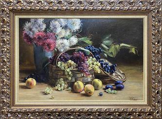 """Арт-студия """"Кентавр"""" - """"Натюрморт с цветами и фруктами"""" №012529"""