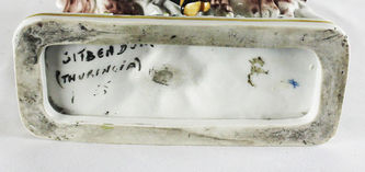 """Арт-студия """"Кентавр"""" - Антикварная фарфоровая статуэтка """"Портной графа Брюля"""" №012546"""