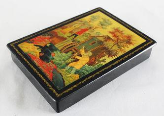 "Арт-студия ""Кентавр"" - Шкатулка -Палехская миниатюра №012551"